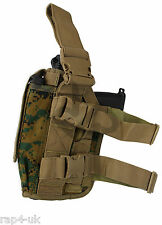 Right Hand Large Sidearm Leg Holster (MARPAT)  Desert Eagle, TiPX, T8.1 [W7]