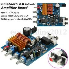 2 x 50W TPA3116 Bluetooth 4.0 Audio Receiver HiFi Stereo Power Amplifier Board