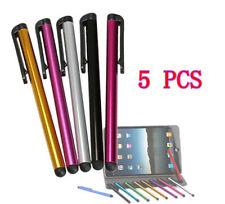 5Pcs Metal Stylus Touch Screen Pen For iPad iPhone Samsung Tablet PC iPod   GRAU