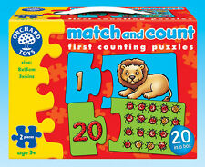 Orchard Toys 219 Match and Count Kids Childrens First Jigsaw Puzzle 3 Yearss +