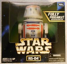 Star Wars  R5-D4  Droid   6 inch  1998  Fully Poseable   MINT in Nice Sealed Box