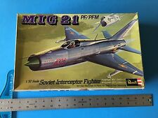 Revell 1/32 Scale Mig-21 PF/PFM Soviet Interceptor with Micro Scale Decal