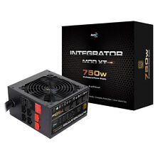 Aerocool integrador 600W 80+ certificado PSU 12cm Negro Fan Active PFC TW Caps