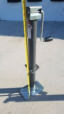 2.25K A-Frame Trailer Tongue Jack Weld on / Bolt On 15'' Travel w/Sand Foot