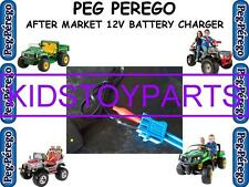 12V Battery Charger PEG PEREGO TRUCKS AND CARS