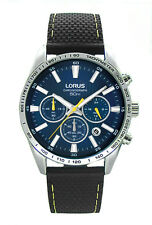 LNP OS RT321CX9 Lorus Gents Chronograph Rubber Strap Watch