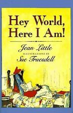 Hey World, Here I Am! by Jean Little (Paperback) NEW! Fiction