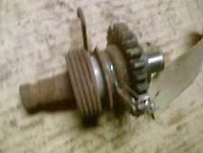 1972-76 Yamaha RD RS 350 400 engine kicker kickstarter shaft rachet spring