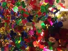 10g  Mixed Shapes & Colours Christmas Sequins Confetti trees, angels, boxes, etc