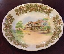 Royal Doulton Bowl Old English Inns The Bell Hurley  Early A Mark D6072