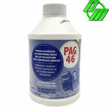 A/C Compressor Refrigerant Oil PAG 46 R134A w/ UV Dye Glycol 8oz Bottle