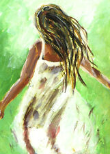 ACEO ORIGINAL PAINTING COLLECTIBLE ART CARD