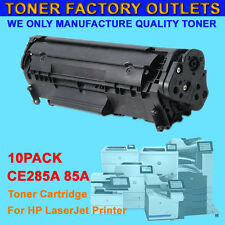 10PK CE285A 85A New Black Toner Cartridge For HP P1102 P1102w M1130 M1132