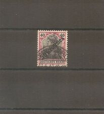 TIMBRE ALLEMAGNE DEUTSCHE KOLONIE GERMAN LEVANT N°55 OBLITERE USED