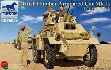 Bronco 1/35 35085 British Humber Armoured Car mk.II