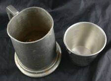 Lot of 2 Presidents Mug Tankard Viners Of Sheffield English Pewter & Award Cup