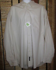 New Port Authority DuPont Teflon Fabric protector Men's Long Sleeve Shirt 2XLNew