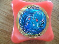 AZURILL # 8 orange WAPS Kraks POKEMON Advanced Panini laser PMCE collector 2003