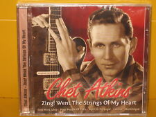 CD CHET ATKINS - ZING! WENT THE STRINGS OF MY HEART - SEALED SIGILLATO