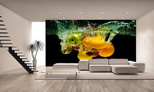 Fresh Fruit and Vegetables Wall Mural Photo Wallpaper GIANT DECOR Paper Poster