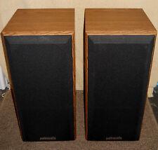A Pair of Polkaudio Monitor Series Speakers M5jr