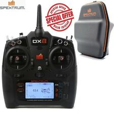 Spektrum SPMR8000 DX8 Gen 2 DSMX® 8-Channel Transmitter Mode 2 w/ Free Bag