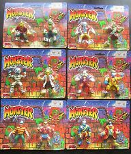 MONSTER Mini Figure Twin Packs Sungold  FULL SET OF ALL 12 FIGURES Horror Toys