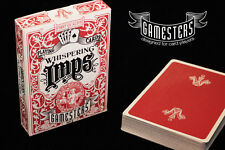 Whispering IMPS (Gamesters) Red Playing Cards New Deck