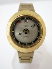 Vintage Rare Zodiac Astrographic SST Automatic Watch 17J  Swiss Made  Mens