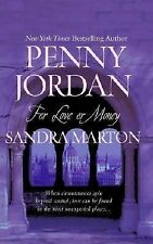 For Love or Money: 2 Book in 1  Unwanted Wedding / The Borghese Bride Penny Jo