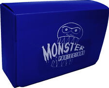 (1) BCW-MB-DD-MBL Blue Double Deck Trading Card Game Box Monster Protectors M:TG