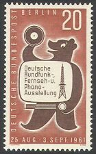Germany (B) 1961 Radio/Television/Bear/Exhibition/Radio Mast/TV 1v (n41187)