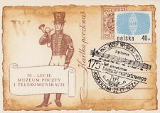 Poland postmark KOSCIERZYNA - music J.WYBICKI author of the Polish anthem