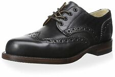 New in Box Frye Mens Arkansas Wingtip Oxford Black Shoes 10.5 D (M) MSRP $ 488