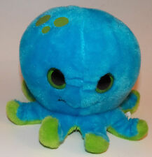 Petting Zoo Blue Green Octopus Plush Stuffed Animal Toy