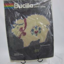 Bucilla Plastic Canvas Kit Country Pig Doorstop / Mail Holder Craft NEW