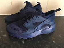 Mens Triple Blue Nike Air Huarache Size Uk 10 Running Shoes Trainers Gym Workout