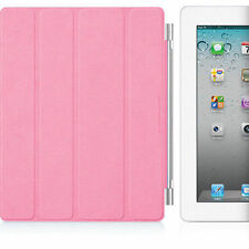 NEW GENUINE APPLE IPAD 2/3/4 SMART COVER PINK MAGNETIC STAND MD308LL/A