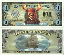 DISNEY DOLLARS $1 Featuring PIRATES of the Caribbean DEAD MAN'S CHEST New