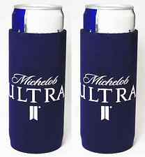 Michelob Ultra Slim Can Beer Can Neoprene Holder - 2 Pack