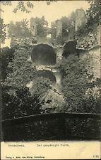 Heidelberg am Neckar alte Postkarte um 1900 Der gesprengte Turm Verlag v. König