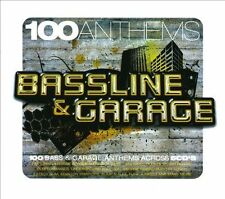 100 Anthems - Bassline and Garage -Brand New Factory Sealed 5CD Box Set.