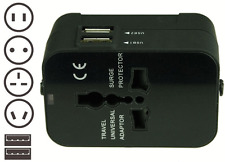 Universal Travel Wall Charger AU UK US EU AC Power Adapter Plug Converter 2 USB