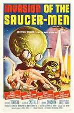 Invasion Of Saucer Men Poster 01 A3 Box Canvas Print