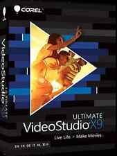 Corel videostudio ultimate X9 pour windows youtube video editor pro logiciel best