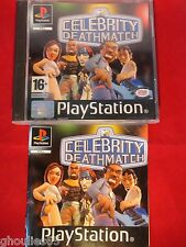 CELEBRITY DEATHMATCH PLAYSTATION 1 CELEBRITY DEATH MATCH PS1 PSONE PS2 PS3