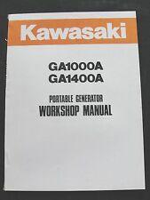 KAWASAKI GA1000A GA1400A 1000 1400 GENERATOR SERVICE REPAIR MANUAL