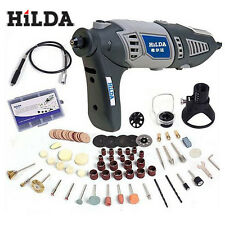 HILDA 220V 170W Variable Rotary Tool Electric Mini Drill with Flexible Shaft an