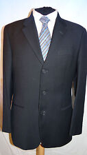 EMPORIO ARMANI SMART DESIGNER NAVY BLUE SUIT JACKET/BLAZER UK 38 EU 48