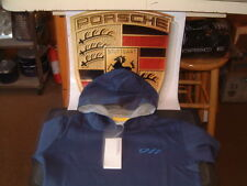 PORSCHE DESIGN DRIVER'S SELECTION CHILD'S LIGHT WEIGHT 911 HOODIE. EURO SIZE:128